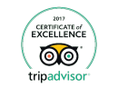 Tripadvisor - Certificate of Excellence 2015 Winner